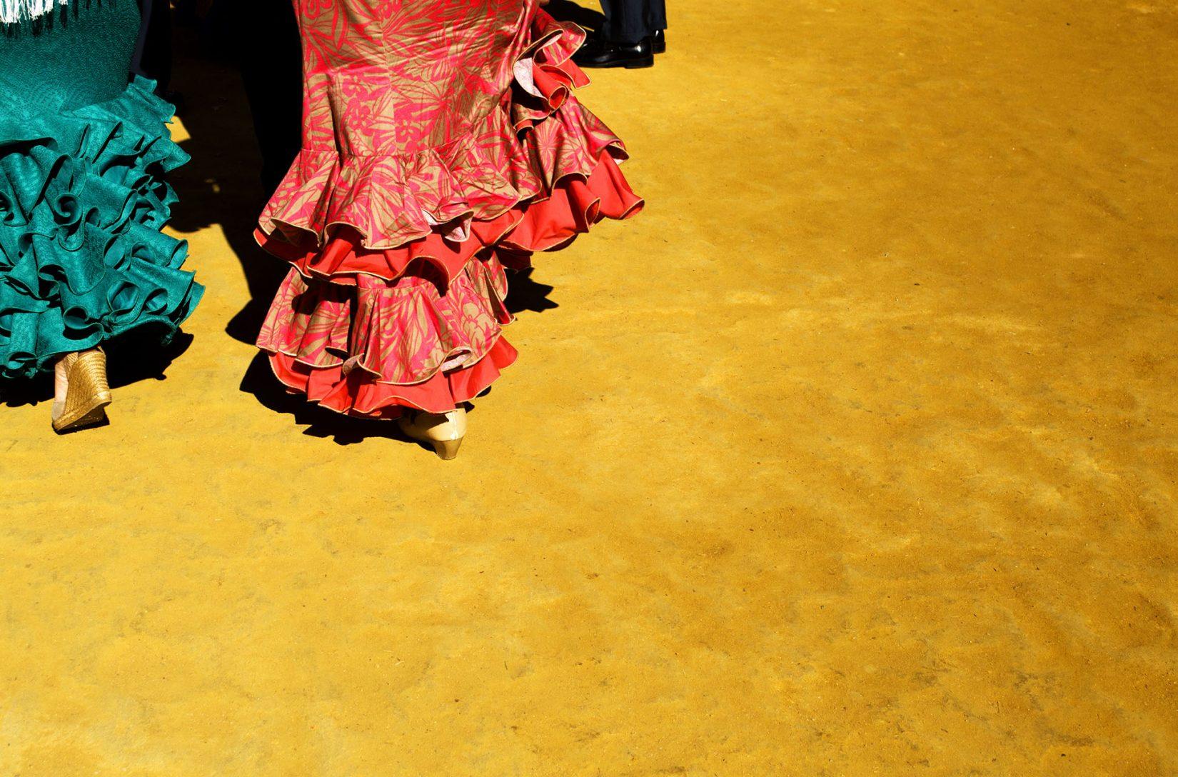 Sevilla se viste de Feria